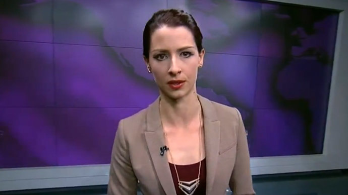 Abby Martin speaking in Las Vegas
