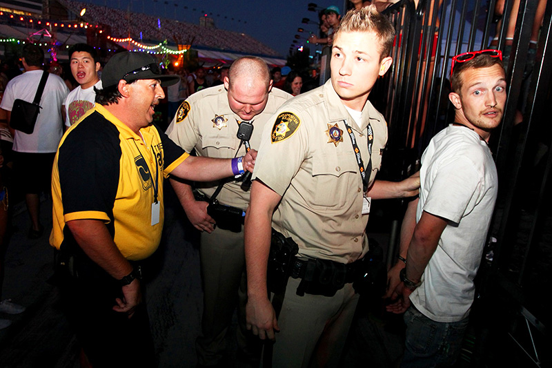 Nevada Revised Statutes >> Electric Daisy Carnival Arrests-2016 Nevada Revised Statutes